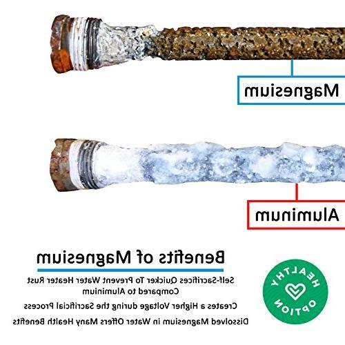 RV Water Heater Rod Magnesium Rod Suburban Water Suburban 9.25''Long & Thread – Lasting Corrosion –