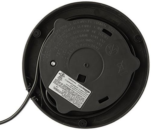 AmazonBasics Electric Kettle - 1-Liter