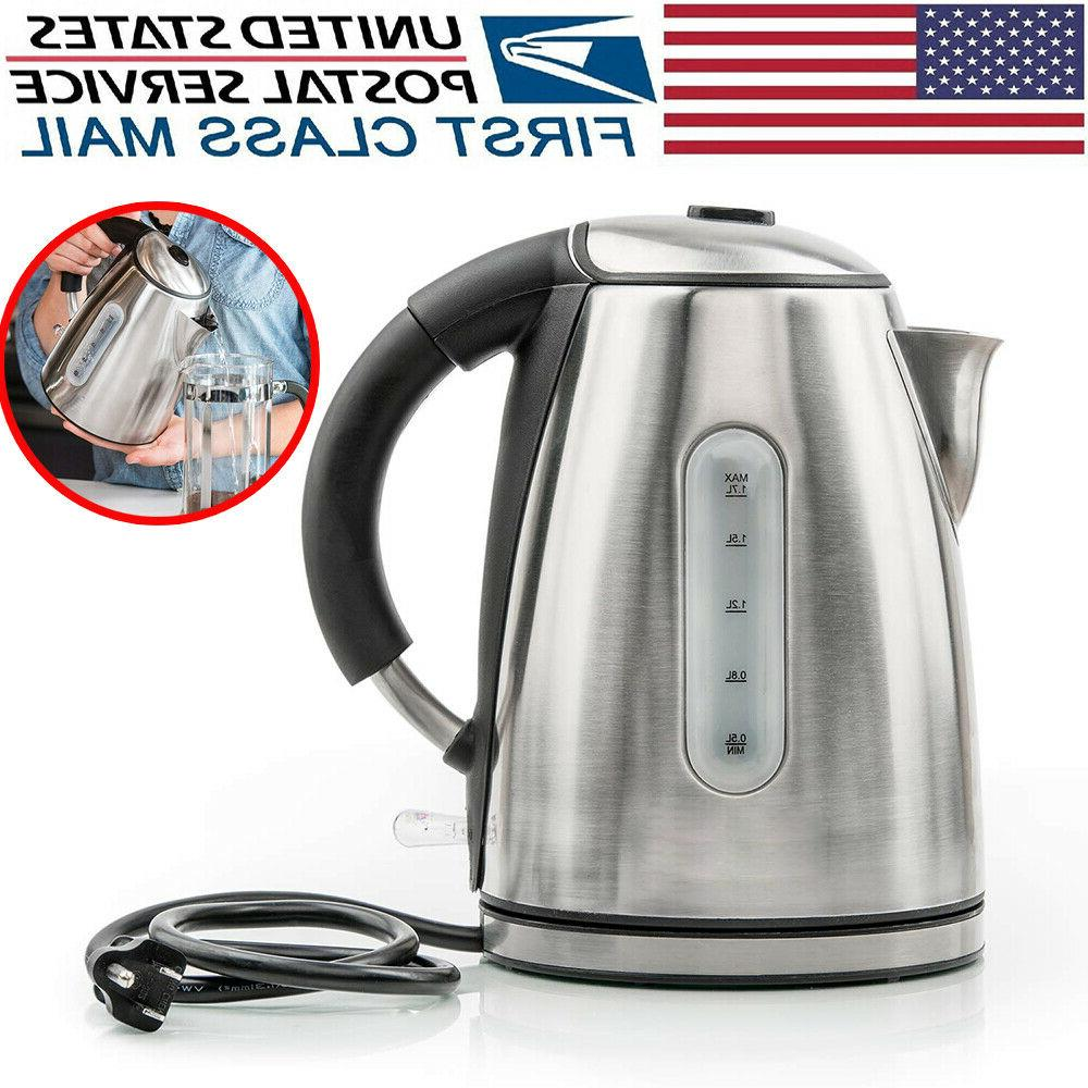 stainless steel electric kettle water heater fast