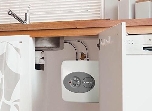 Bosch Electric Mini-Tank Heater T 2.5-Gallon - Time for Hot - Shelf,