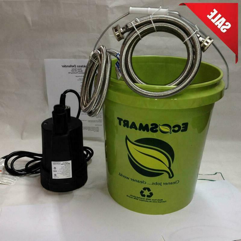 Tankless Water Flushing Kit