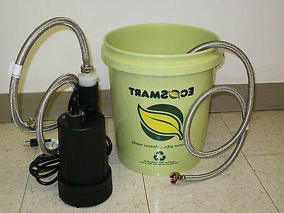 tankless water heater flushing kit descaler kit