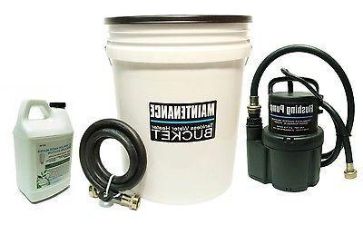 tankless water heater flushing rheem bosch noritz