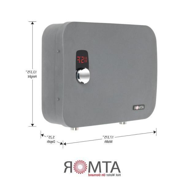 Atmor Thermo Pro /240 Volt 3.7 GPM Digital Tankless Electric Heater