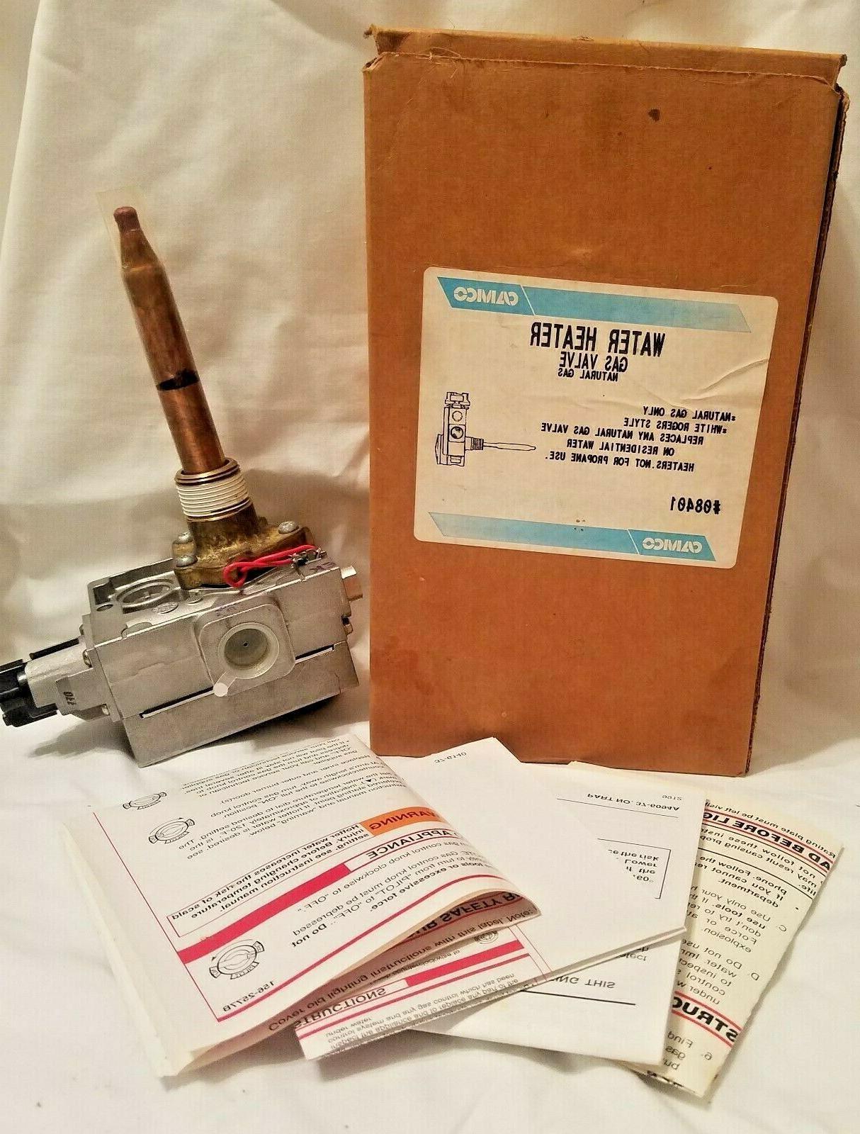 water heater gas valve 37363u 114 natural