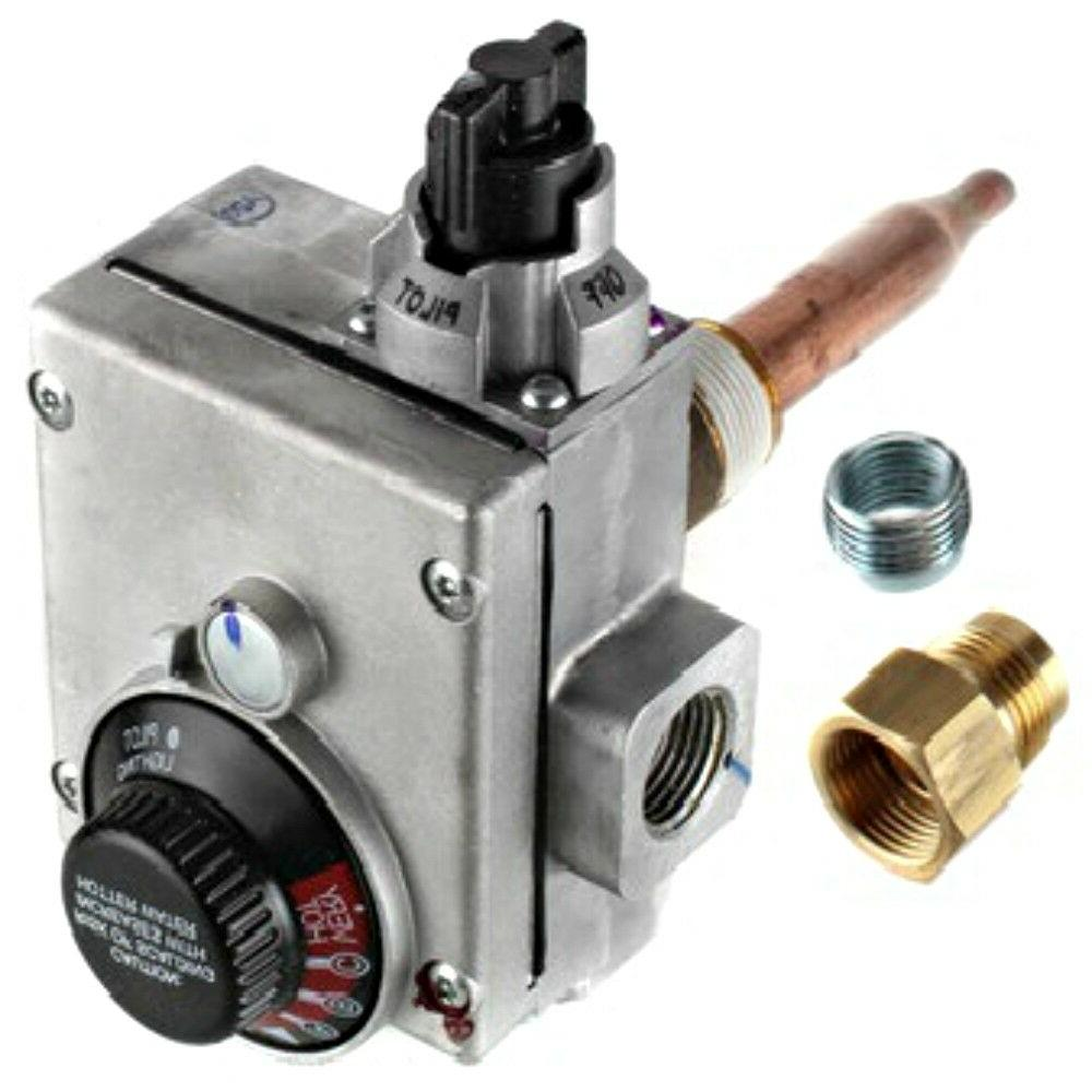 water heater gas valve control natural gas