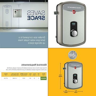 Water Heater Tankless Electric Wall Mount Indoor Instant Hot