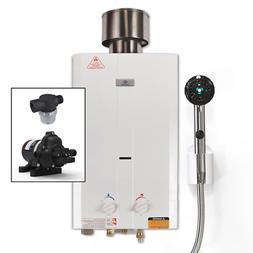 Eccotemp L10 Portable Tankless Water Heater w/EccoFlo Pump,