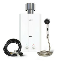 Eccotemp L10 Portable Outdoor Tankless Water Heater w/ Showe