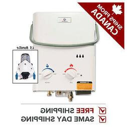 Eccotemp L5 Tankless Water Heater w/ EccoFlo 12V Pump and St