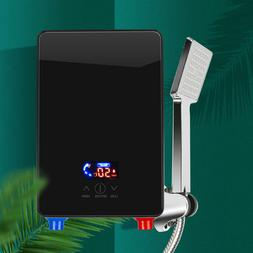 6500W LED Tankless Instant Electric Hot Water Heater & Showe