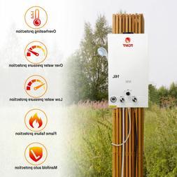 16L/min Tankless Natural Gas Digital Display Instant 4.2 GPM