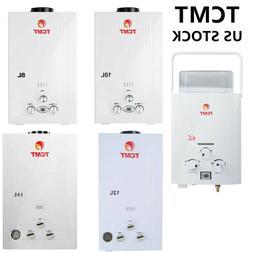 New 6/8/10/12/18L LPG Gas Instant Boiler Propane Tankless Ho