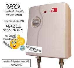 KS96 KING´S Electric Tankless  Water Heater 11.8 KW AT 240V