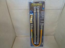 NEW HOME FLEX WATER HEATER INSTALATION KIT GAS FLEX PIPE AND