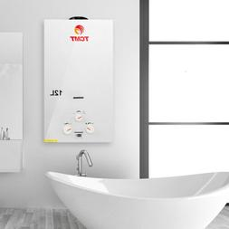 On Demand 12L Natural Gas Tankless Hot Water Heater Instant