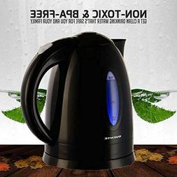 Ovente 1.7 Liter BPA Free Cordless Electric Kettle Assorted