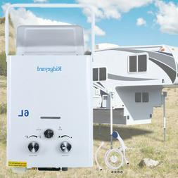 LPG Propane Gas 6L Hot Water Heater Tankless Instant Boiler