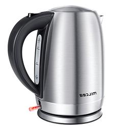 MILCEA Quick Boil Electric Kettle 1.7Liter 1500W Cordless St