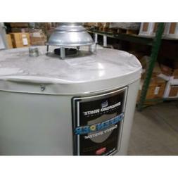 BRADFORD WHITE RG240T6N 40 GALLON DEFENDER SAFETY SYSTEM GAS