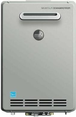 Rheem 9.5 GPM Liquid Propane Gas High Efficiency Outdoor Tan
