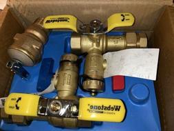 Rheem RTG20220AB Tankless Water Heater Brass Webstone Servic