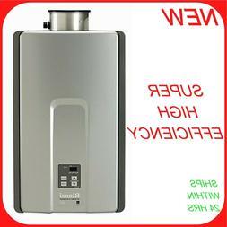 Rinnai RL75iP Indoor Tankless Water Heater Propane W/ Isolat