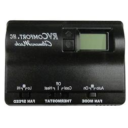 RVP 8330-3862 Coleman Mach Black Digital Wall Thermostat