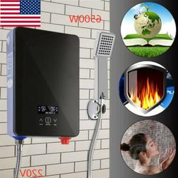 Electric Instant Hot Water Heater Boiler Tankless w/Shower N