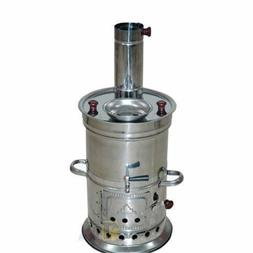 SAMOVAR TYPES CHAMPING TENT WATER HEATER TEA KETTLE COOKING