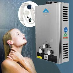 Stainless Steel 8L NG Natural Gas Tankless Hot Water Heater