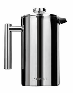 Secura Stainless Steel French Press Coffee Tea Maker Water H
