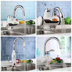 Tankless Electric Instant Hot Water Heater Faucet Bathroom K