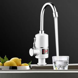 Tankless Instant Electric Hot Water Heater Faucet Kitchen He