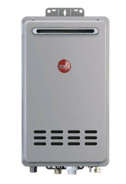 Rheem Tankless Natural Gas Water Heater  Outdoor 160,000 BTU