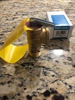Watts Tankless Water Heater Shutoff 3/4 LF4L-150