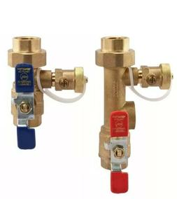 Watts Tankless Water Heater Valve Set Lead Free LF TWH-FT-HC