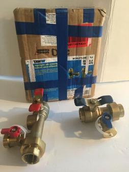 Watts Tankless Water Heater Valve Set LF TWH-FT-HCN Lead Fre