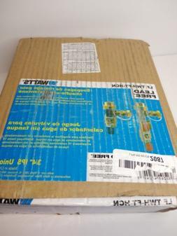 Watts Tankless Water Heater Valve Set Model: LF TWH-FT-HCN 3