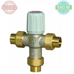 Thermostatic Mixing Valve Silver Metallic Water Heater Tempe