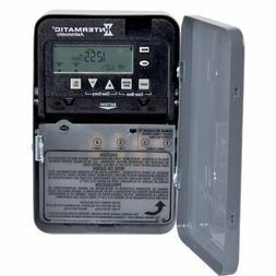 Intermatic Timer, 120277V 30A SPST 7Day Digital Timer in NEM
