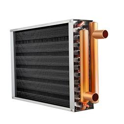 """AB Water to Air Heat Exchanger 16x16 1"""" Copper Ports Forced"""