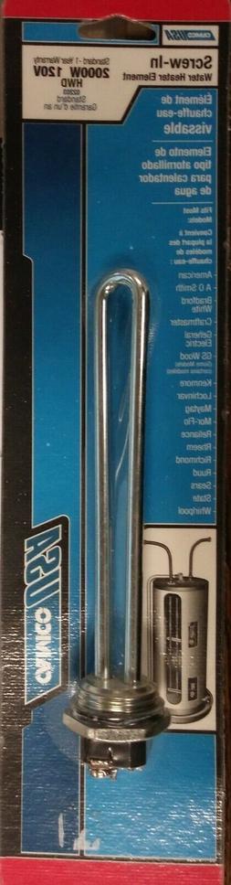 Camco Water Heater Screw-in Element 02203 2000watt 120volt