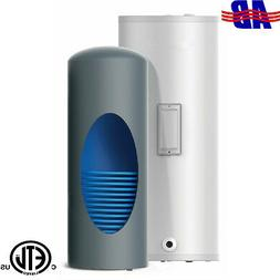 """WiseWater Indirect Hot Water Heater 40 Gallon 1 Coil 3/4""""M"""